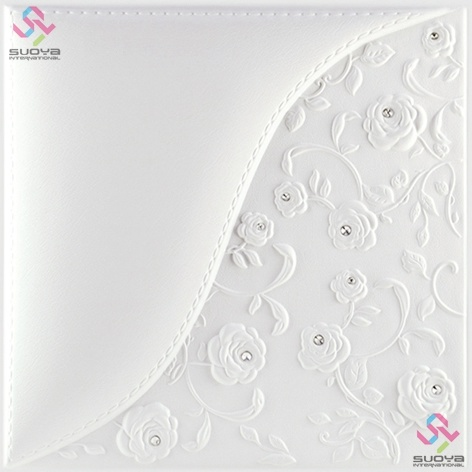 Decorative 3D PU Leather Wall Panel & Ceiling Tile 1007