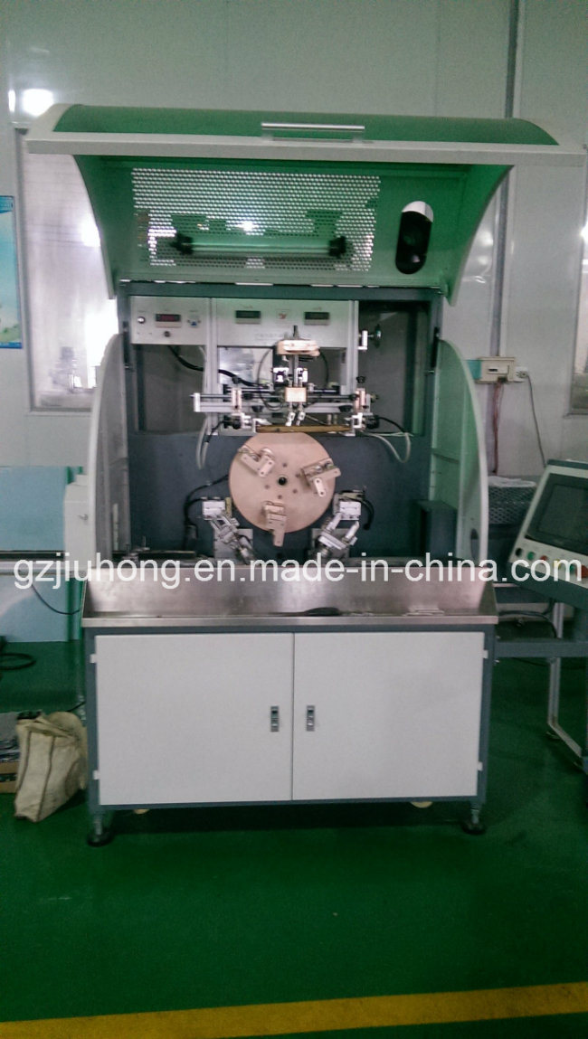3 Stations Screen Printing Machine for Plastic Bottle Jar Tube