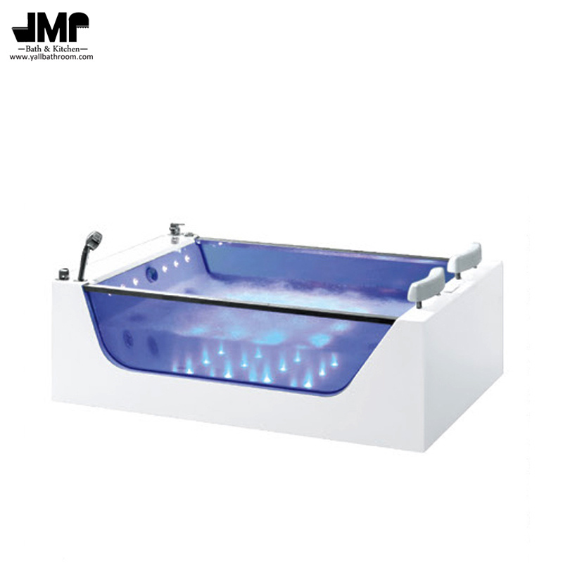 China Hotel SPA Jacuzzi Corner Bath Tub Air Bubble Massage Bathtub ...