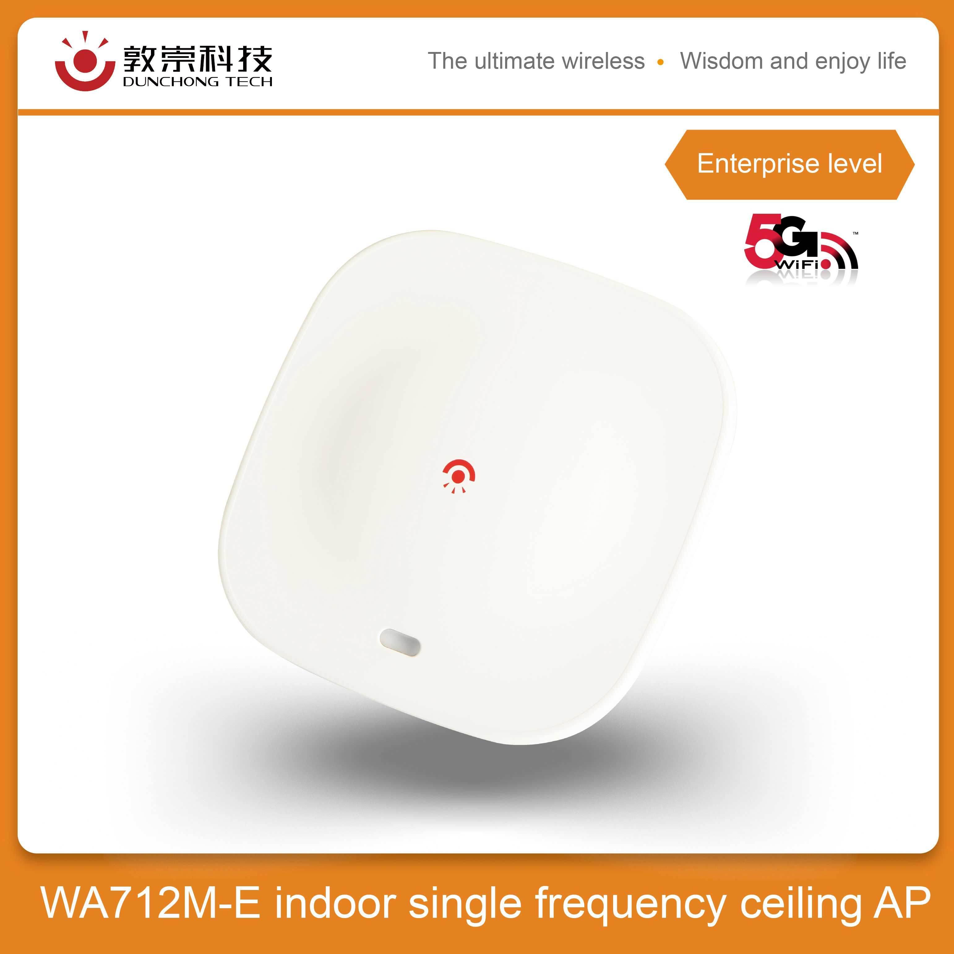 [Hot Item] [DUNCHONG]Industrial-2 4Ghz Ap/router Indoor WA712M Indoor long  range 5dbi antenna