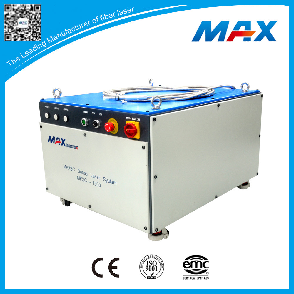 China Manufacture 1500W Single Mode Fiber Cw Laser for Cutting