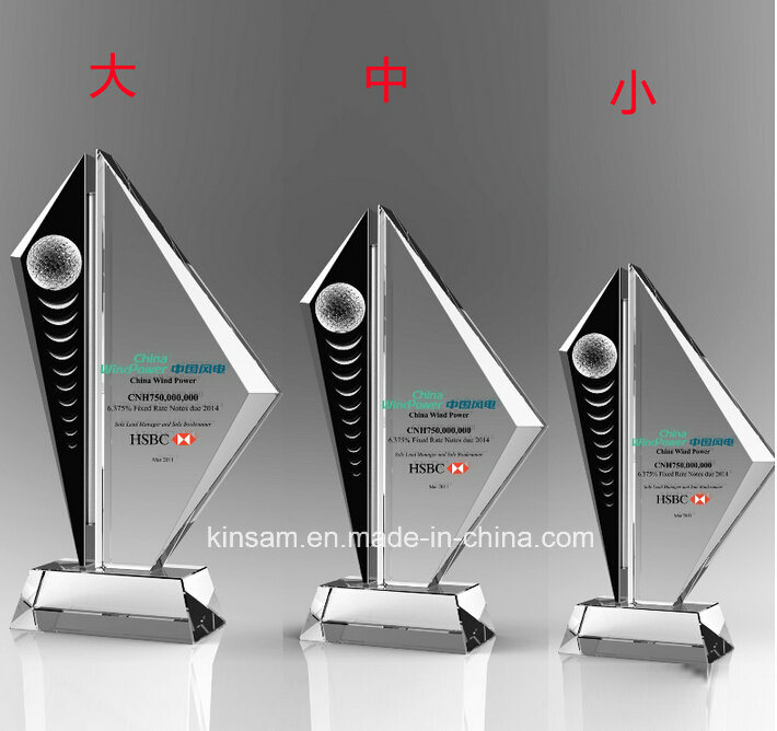 China Customized Crystal Award Creative Trophy