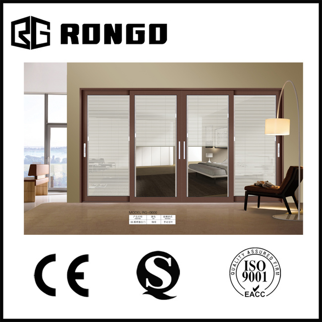 China Australia Standard As2047 Aluminium 12mm Tempered Glass Door