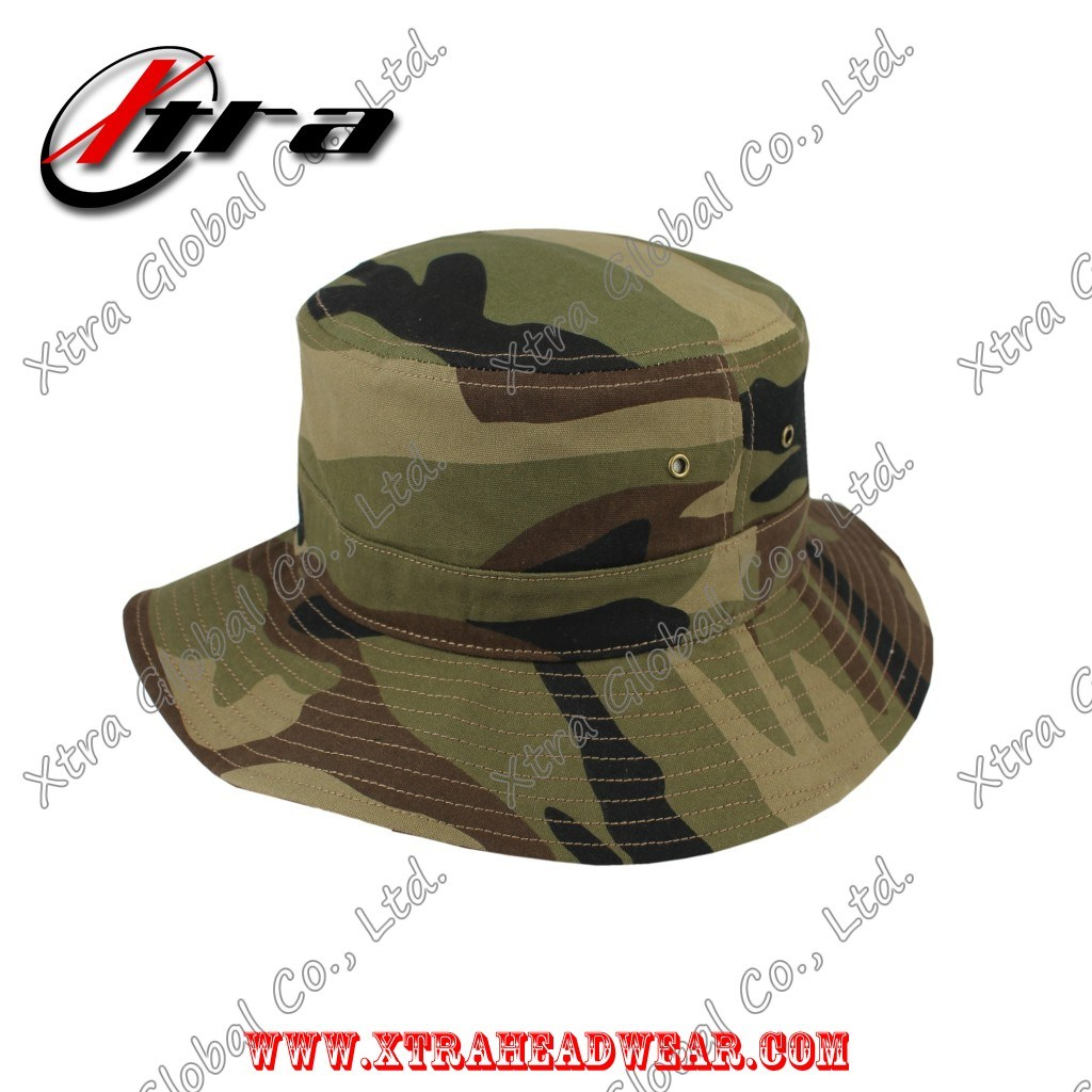 b66f623ee7b China Marpat Woodland Camouflage Army Camo Bucket Hat Fish Man Hats - China  Camo Hat