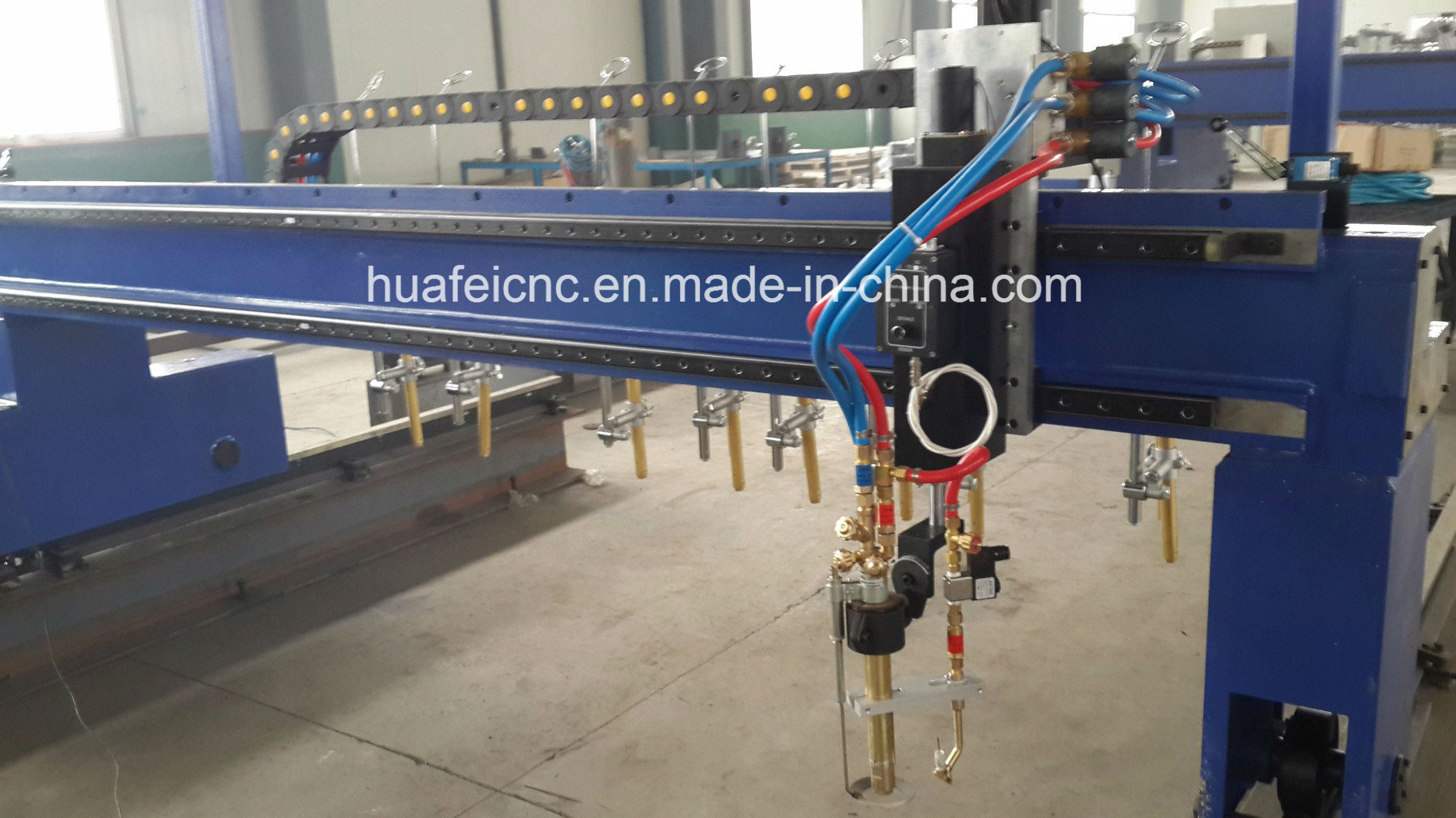 CNC Plasma and Flame Strip Cutting Machine pictures & photos