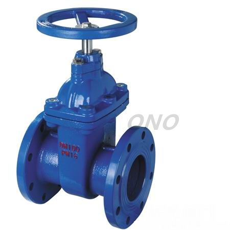 Cast Iron Flange Type Gate Valve RF FF