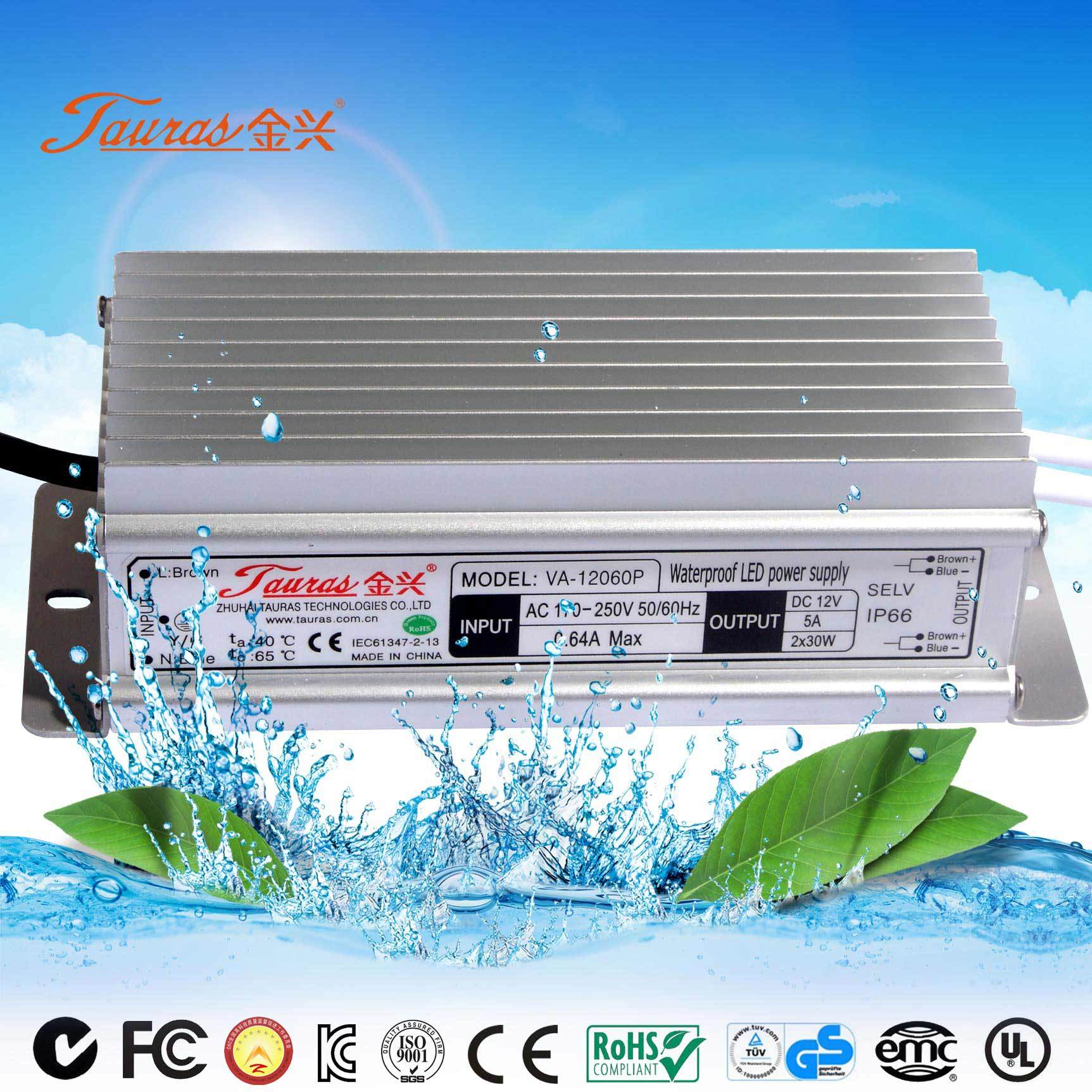 China Emc Approval 12v 60w Led Driver For Lighting Lp 12060p 12 150w Circuit Manufacturer Lights View Power Supply
