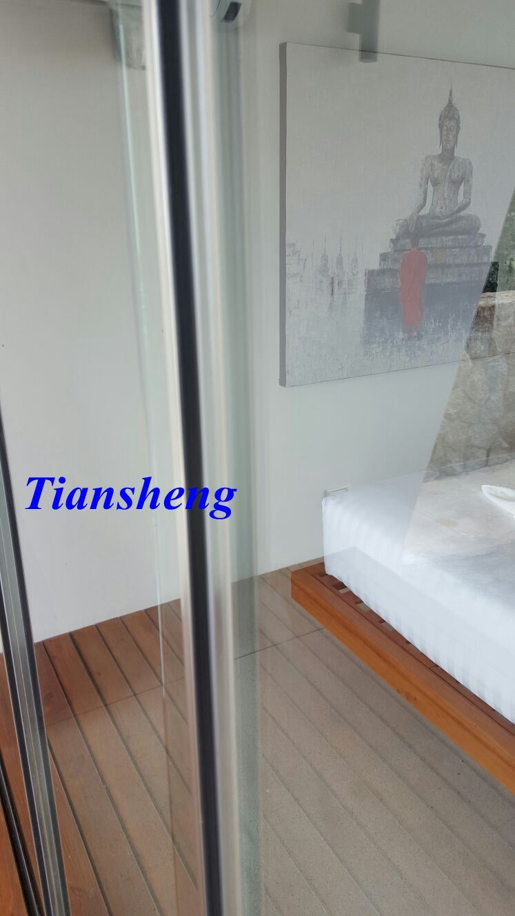 China Frameless Stack Glass Sliding Door Photos Pictures Made In