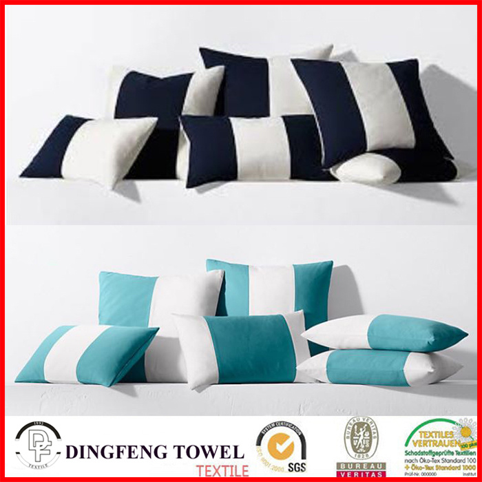 2017 New Design Digital Printed Color Matching Fabric Cushion Cover Sets Df-C317