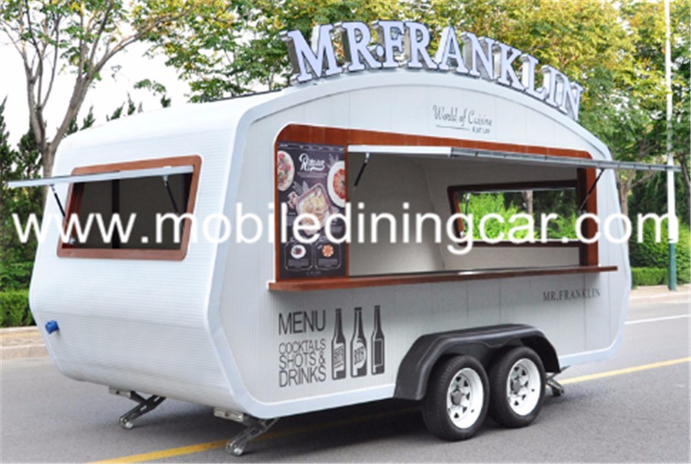 China Commercial Kitchen Trailer/Food Cart Business Truck for Sale ...