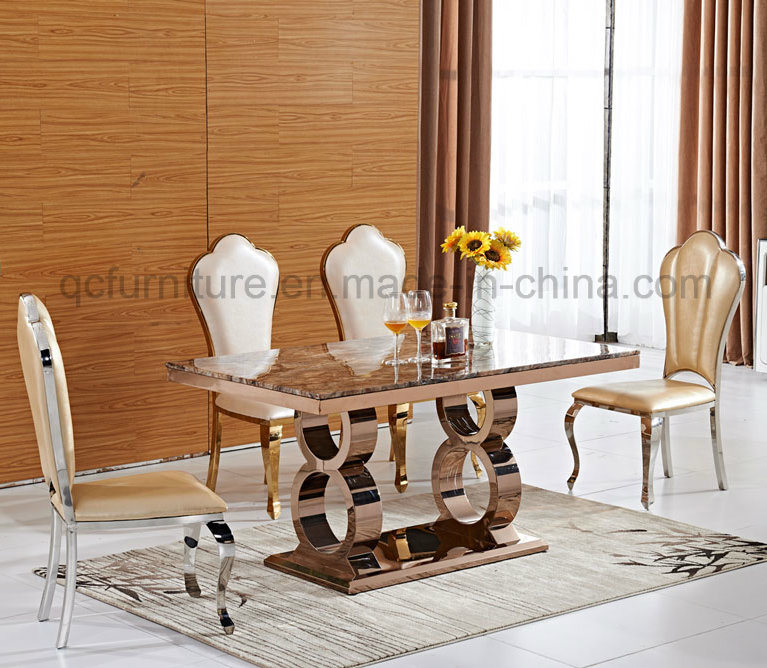 Mirror Dining Table Set