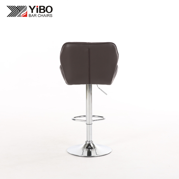 Brilliant China Pu Leather Swivel Commercial Bar Stool With Footrest Inzonedesignstudio Interior Chair Design Inzonedesignstudiocom