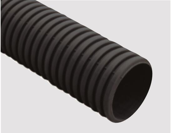 China double wall corrugated hdpe pipe plain end china pe pipe
