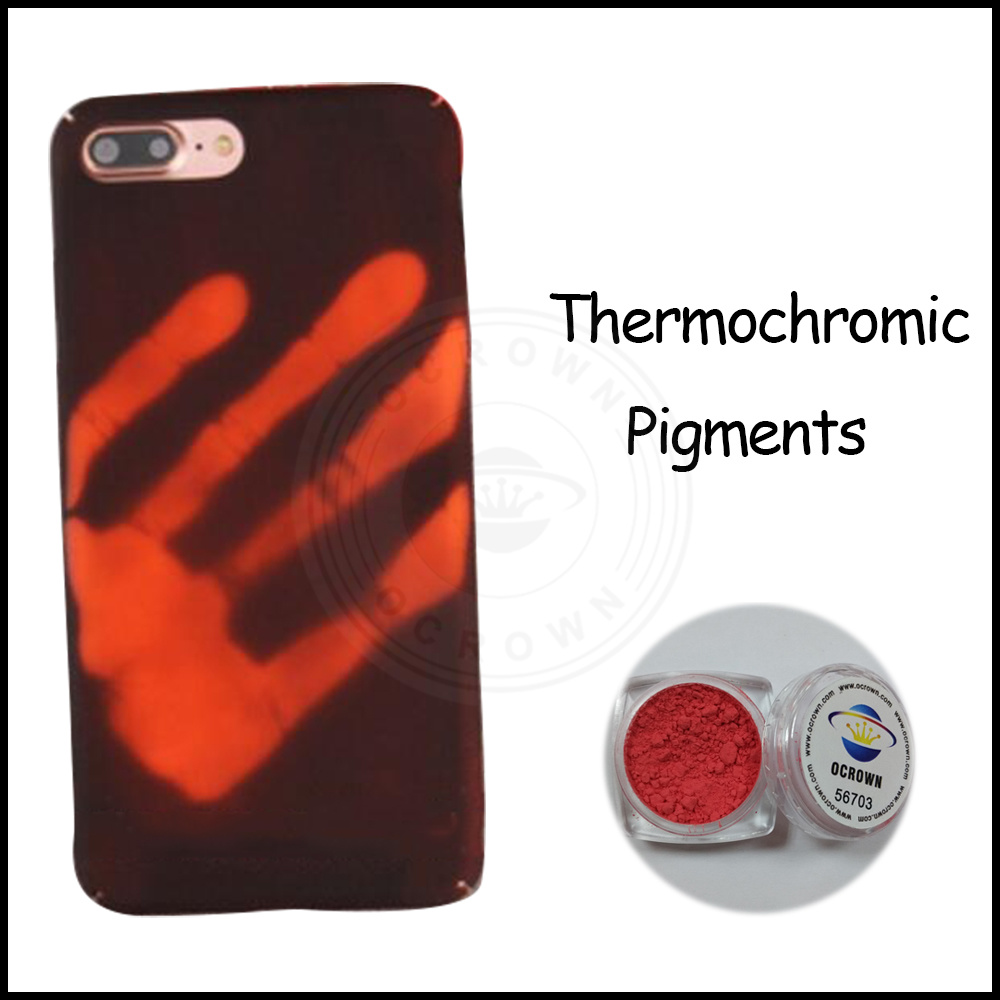 Metallic Red Thermochromic Paint Temp Colour Change