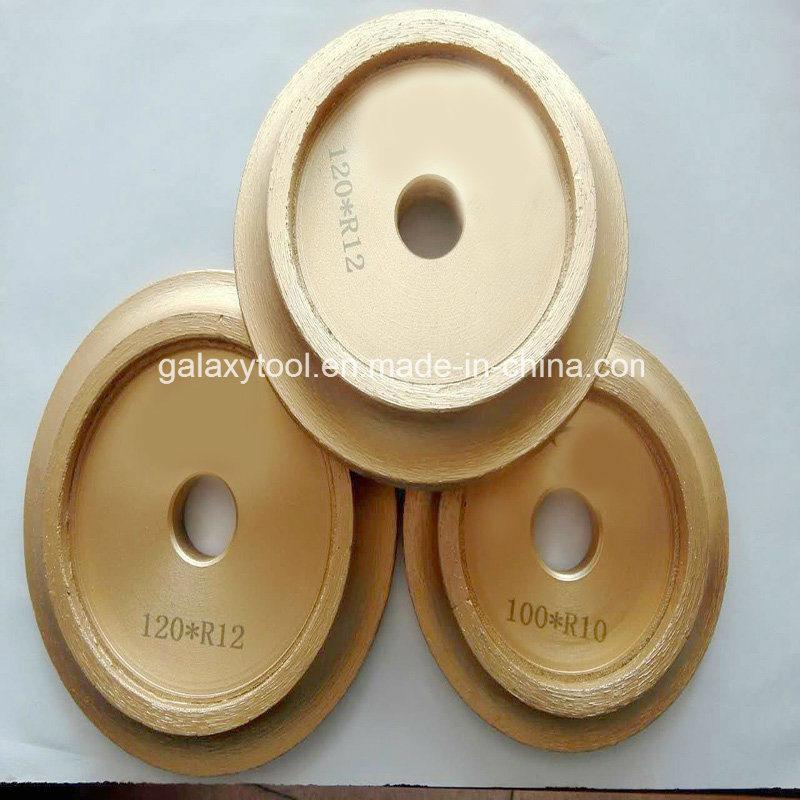 China 4 7 Bullnosing Diamond Grinding Chamfering Wheel For Ceramic