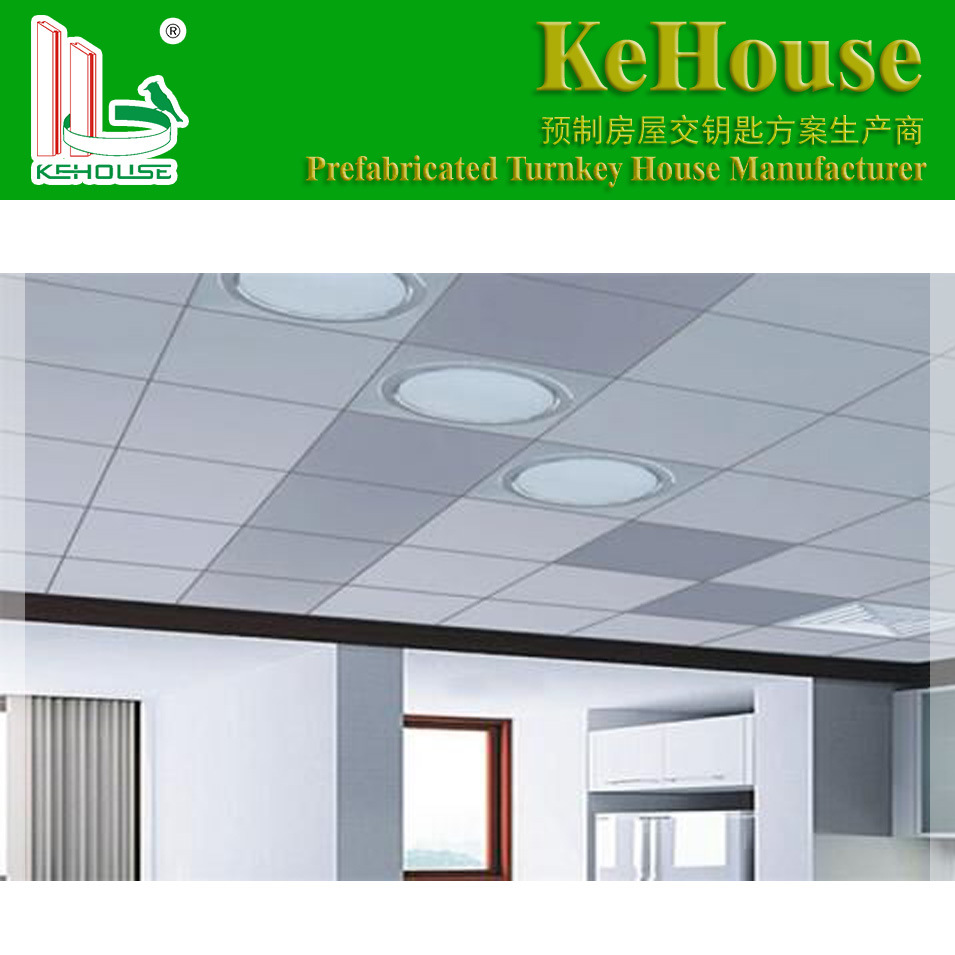 China Good Price Sound Proof Gypsum Board Ceiling Tiles Made In