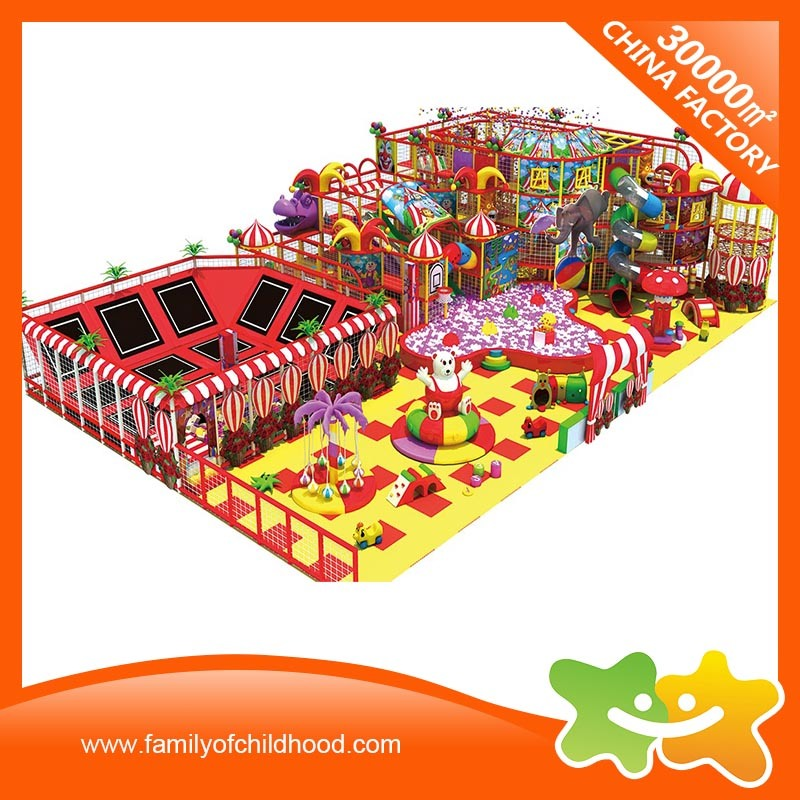 Naughty Castle Playground Equipment Sports Indoor Playground with Trampoline pictures & photos