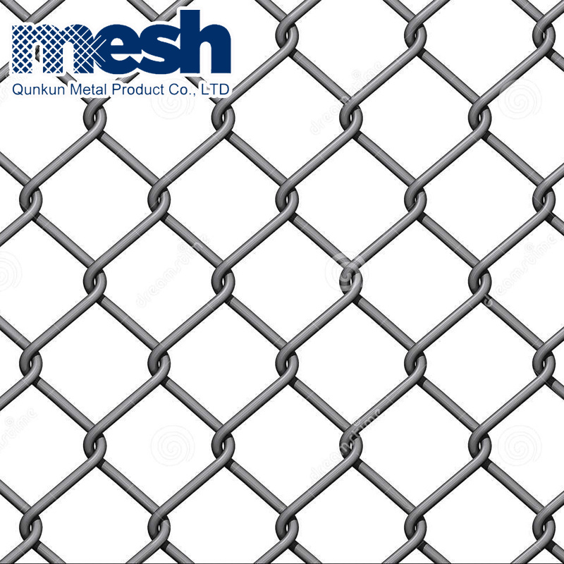 China PVC Coated Security Wire Mesh Chain Link Fence - China Garden ...