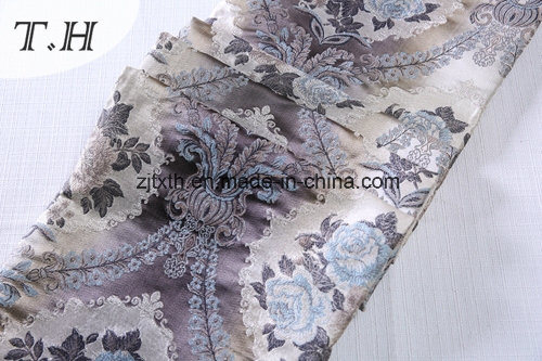 2017 100% Polyester Furniture Upholstery Jacquard Fabrics (FTH32108) pictures & photos