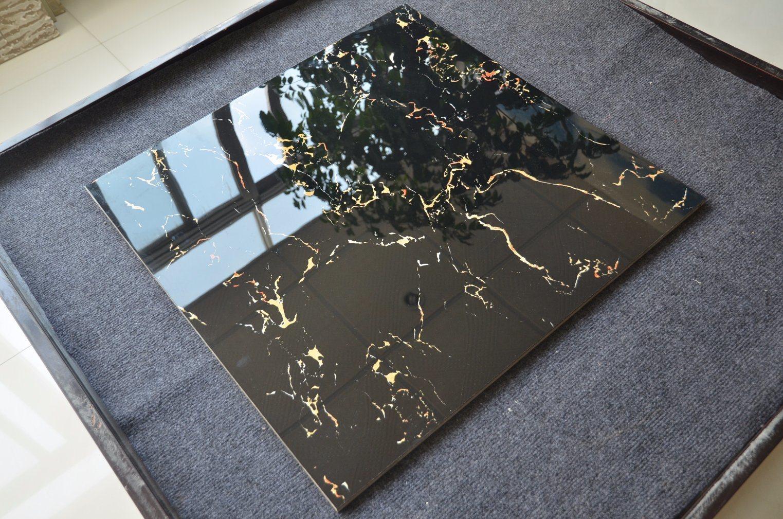 China 800x800 Black Ceramic Artemis Glazed Porcelain Tile Cheap
