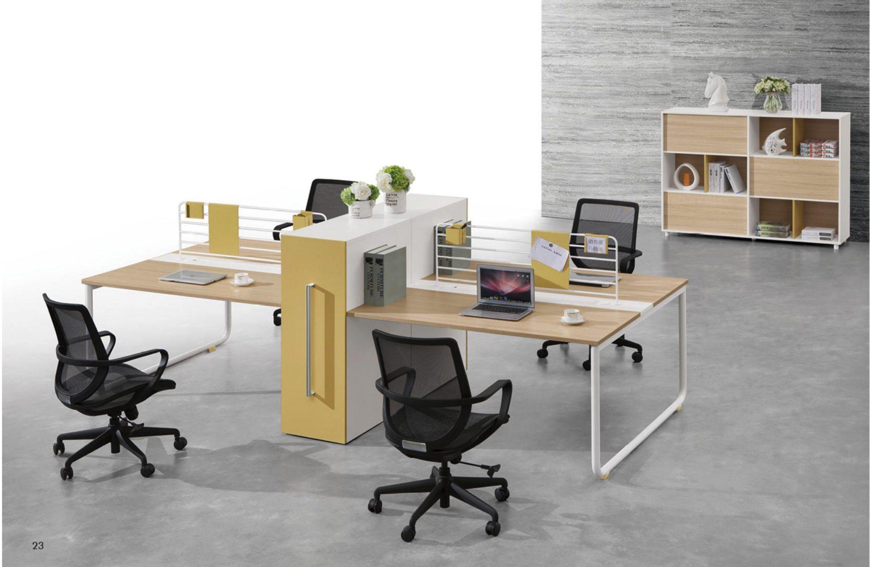 China Partition Workstation Melamine Office Desk Table