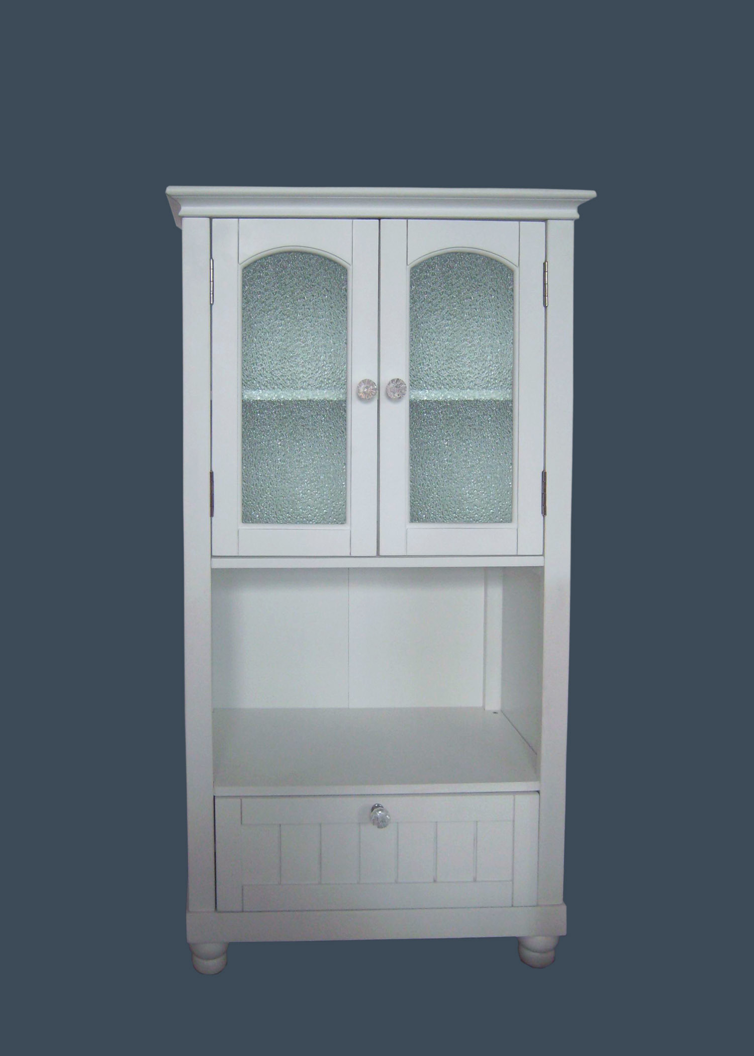 China Glass Door Bathroom Cabinet (002) - China Wooden Cabinet ...