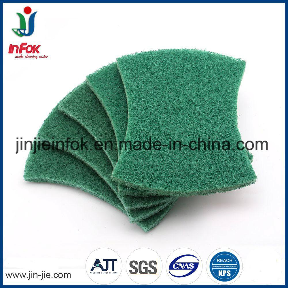 (YF-SC035) Kitchen Cleaning Nylon Scouring Pad pictures & photos