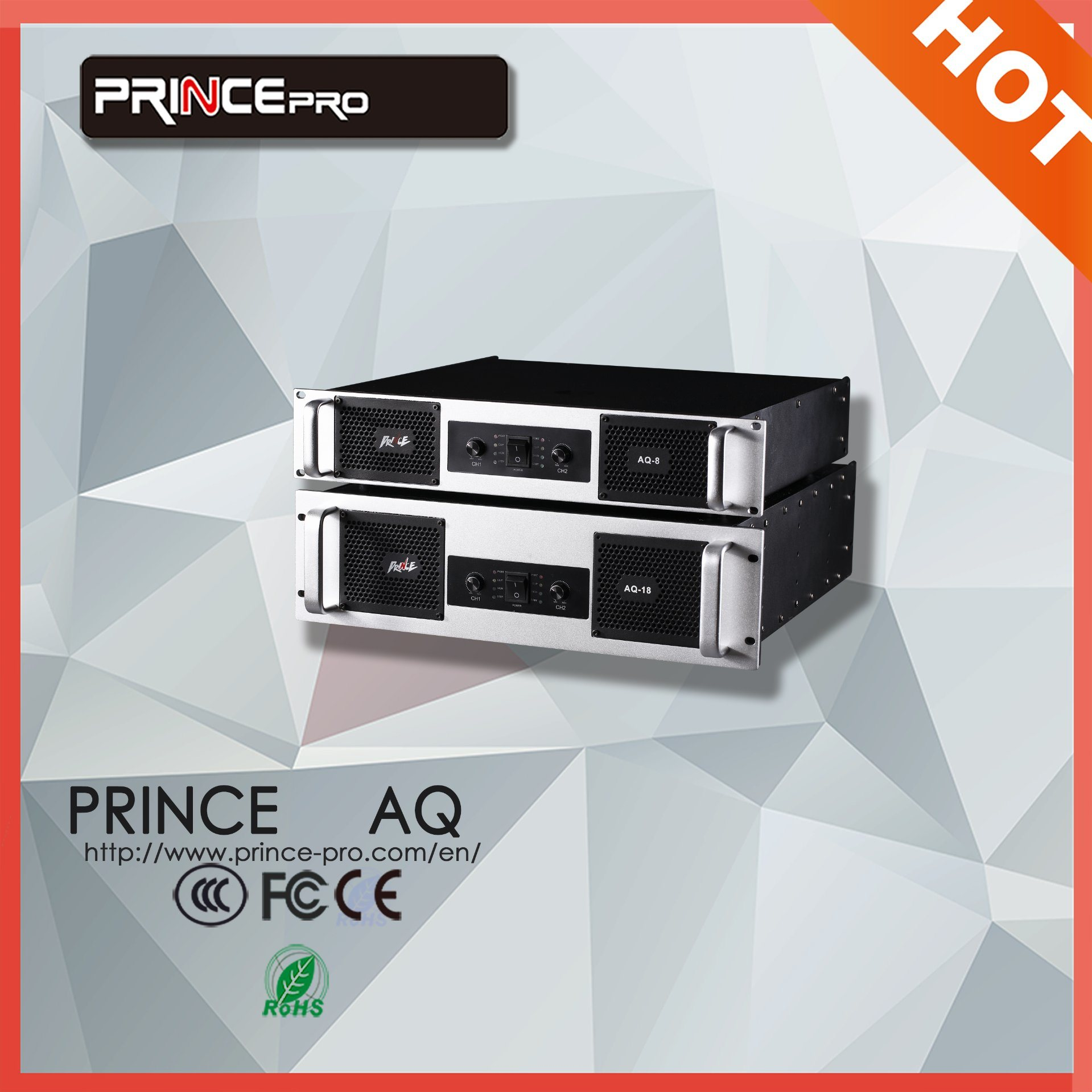 High Quality 3000W Professional Power Amplifier