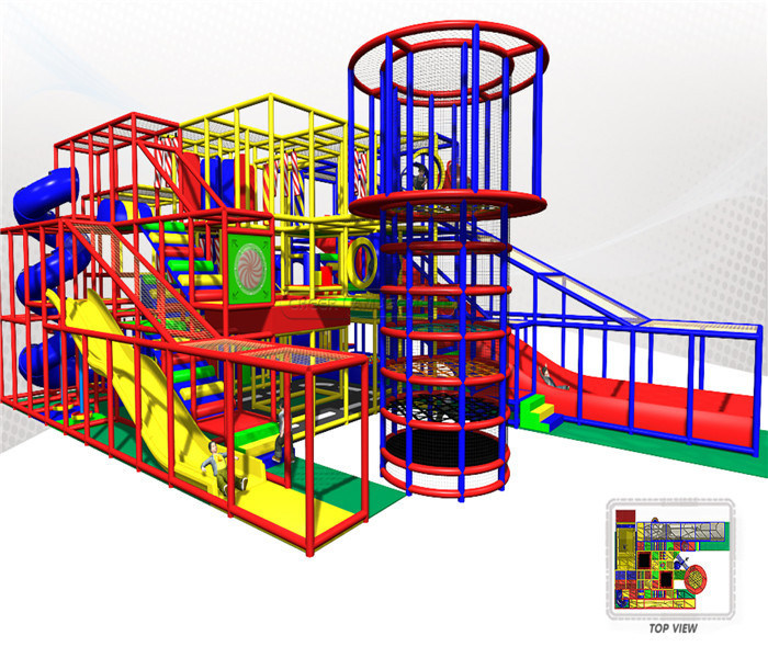 Cheer Amusement Indoor Playground Fitness Equipment pictures & photos