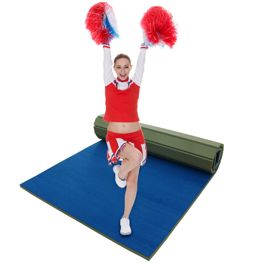 Flexi Roll Out Mat Used For Gym
