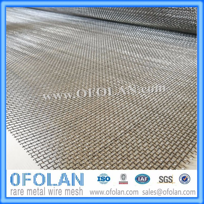 Bright Without Coating Titanium Wire Cloth for Chemical Filter (14 Mesh)