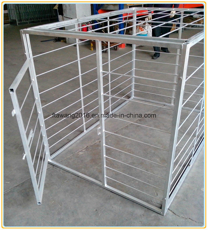 Galvanized Dog Cages
