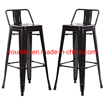 Superb Hot Item 30 Indoor And Outdoor Bar Stools Vintage Tolix Meta Chair With Back Pabps2019 Chair Design Images Pabps2019Com