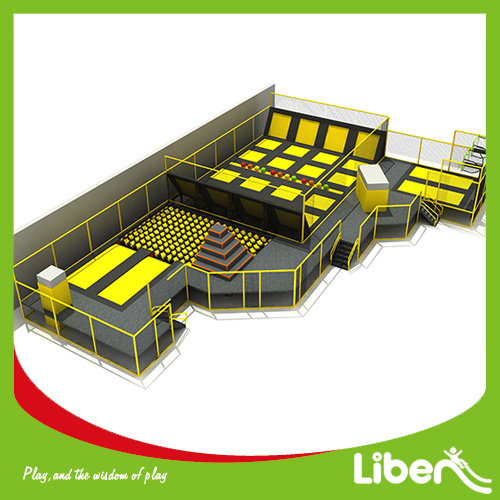 Build Indoor Trampoline Arena with Installation Team pictures & photos