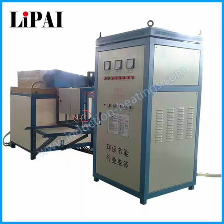 Superaudio Frequency 200kw Induction Forging Furnace with Three Auto Feeding System pictures & photos
