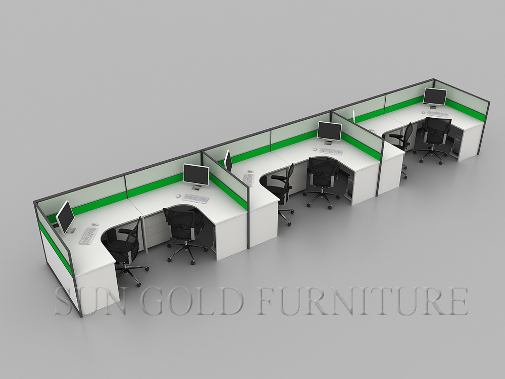 china modern office layout computer workstation divider (sz-ws802