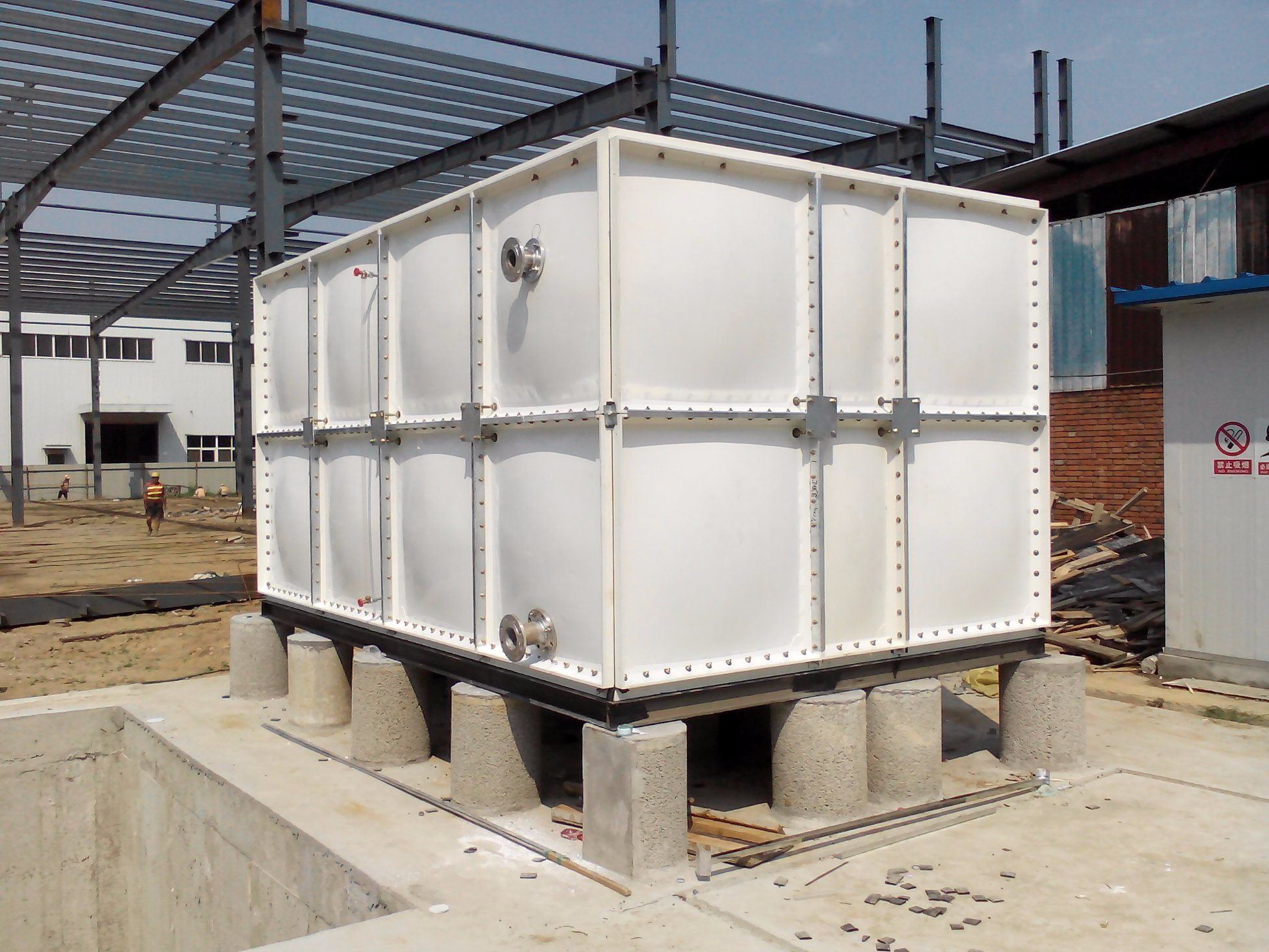 China Water Storage Container FRP GRP Water Tank - China GRP Water Tank,  FRP Water Tank