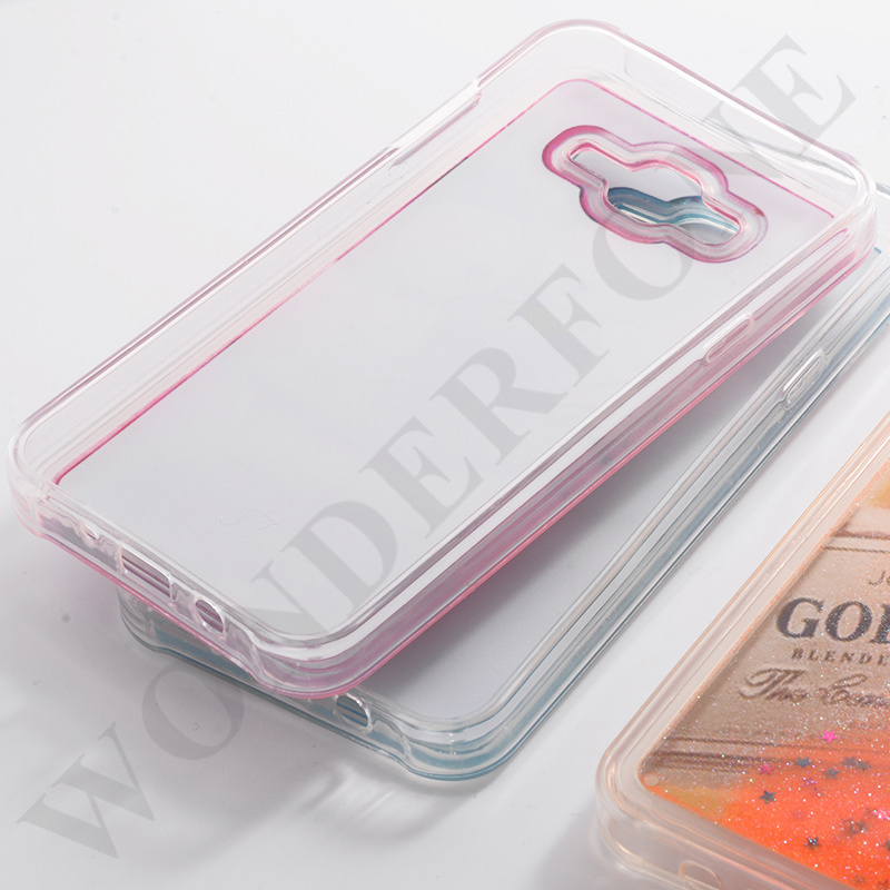 the latest be2cb 2de62 [Hot Item] Mobile Phone Cover Double Color Quicksand Liquid TPU Case for  iPhone
