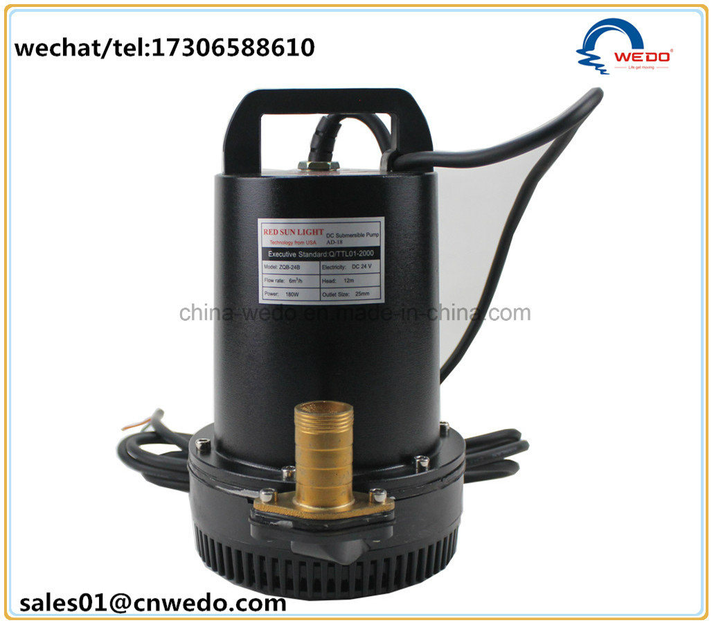 [Hot Item] 12V 24V DC Submersible Pump Battery Mini Pump (Pompa)