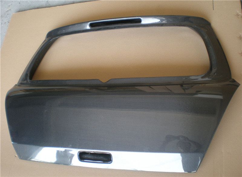 Carbon Fiber Trunk Cover for Suzuki Swift 2005-2008