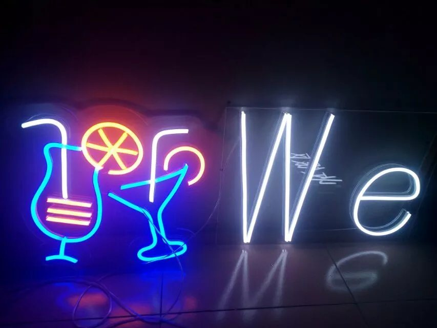 [Hot Item] Bar LED Neon Light Sign for Restaurants and Bars Decoration