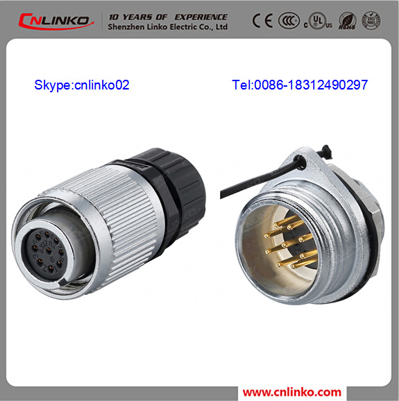 China Stainless Steel Electrical Connectors/Circular Electrical ...