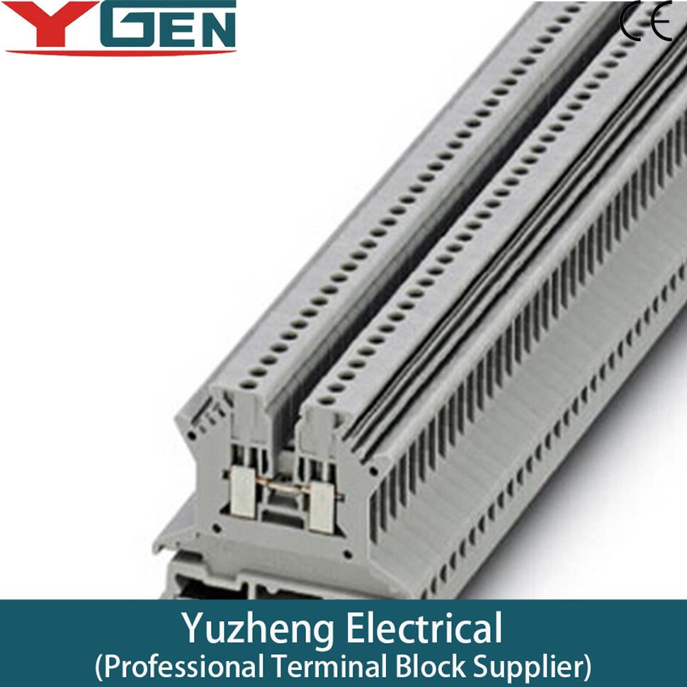 China Wire Distribution Terminal Block Wiring Din Rail