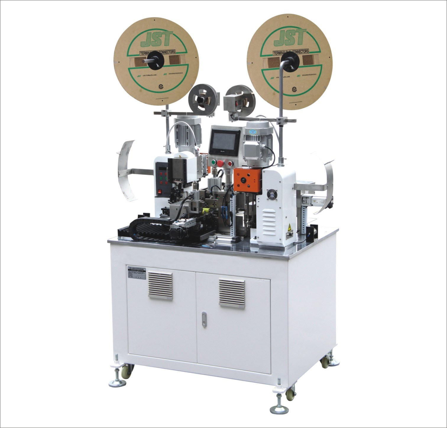 China Automatic Double Head Wire Cable Crimping Machine (5CC ...