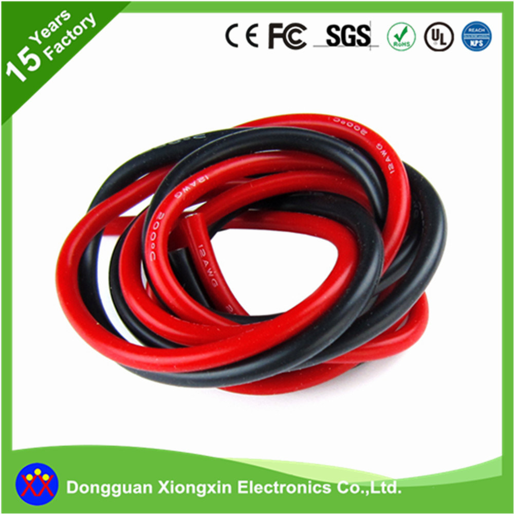 ... 0.06mm Copper Conductor PVC XLPE TPE Teflon Insulated Coaxial Data  Electric Electrical Power Wire Harness - China Silicone Cable, Silicone  Rubber Cable