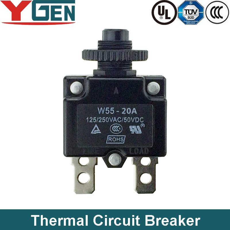 China UL TUV CCC Resettable Thermal Cutoff Switch (W55-20A