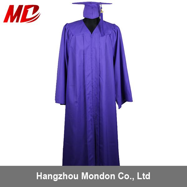 China Adult Purple Graduation Cap Gown Tassel Wholesale for ...