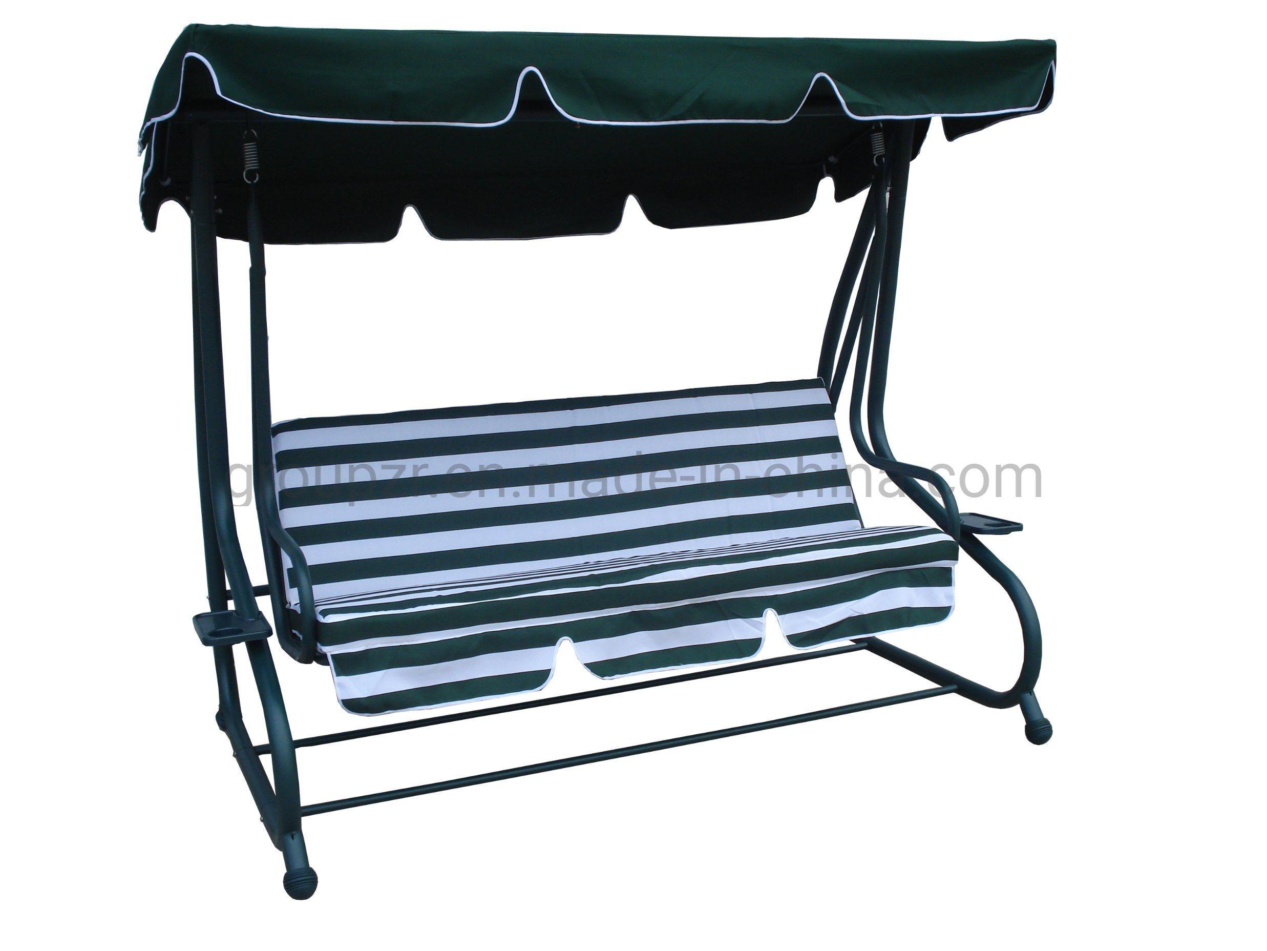 Hot Item Outdoor Garden Furniture Hammock Patio Deluxe Swing Chair Bed