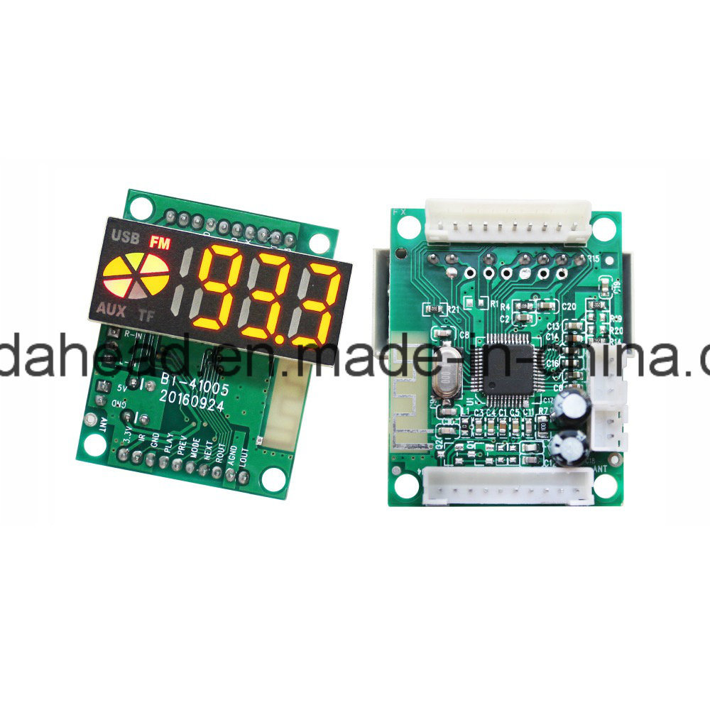 [Hot Item] OEM Circuit Board PCB Manufacturer for Bluetooth Radio FM TF Card