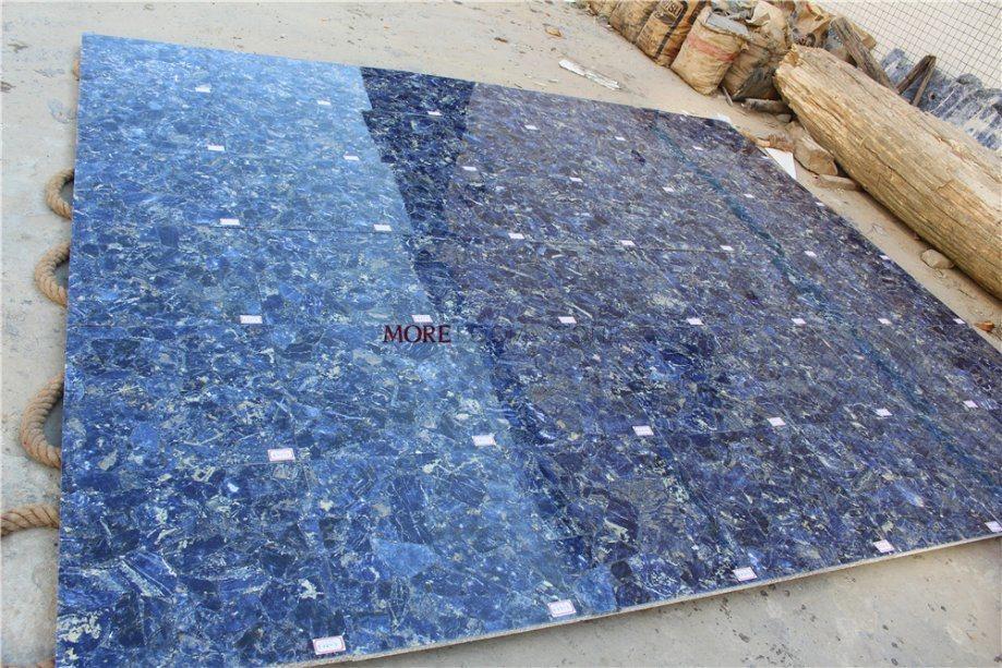 China Luxury Stone Sodalite Azul Bahia Blue Granite China Marble Stone